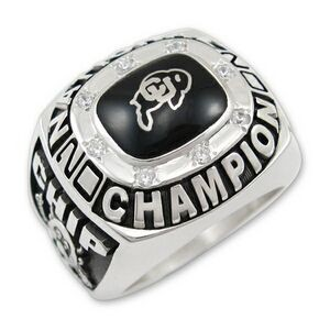 Championship Series Collegiate Men's Ring (Up to 2 Point Stone)