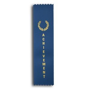 "Achievement Standard Stock Ribbon w/ Pinked Ends (2""x8"")"