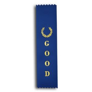 "Good Standard Stock Ribbon w/ Pinked Ends (2""x8"")"