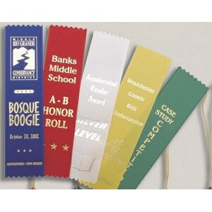 "Custom Award Ribbon (1.625""x6"")"